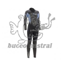 TRAJE BALI  BLUE AQUALUNG LADY 3MM